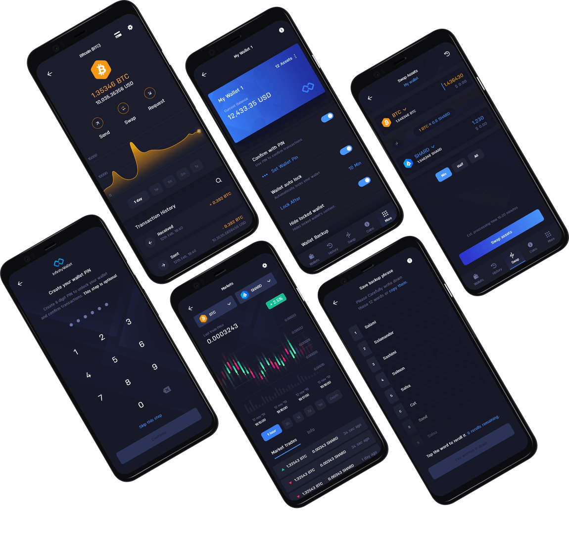 Infinity Wallet Multi-crypto Mobile Wallet