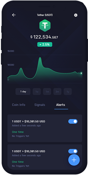 Tether Wallet Mobile Dashboard | USDT Wallet Mobile Dashboard