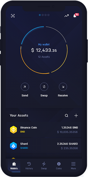 BNB Wallet Mobiles Kryptowährungs-Dashboard | BNB Wallet Mobiles Kryptowährungs-Dashboard