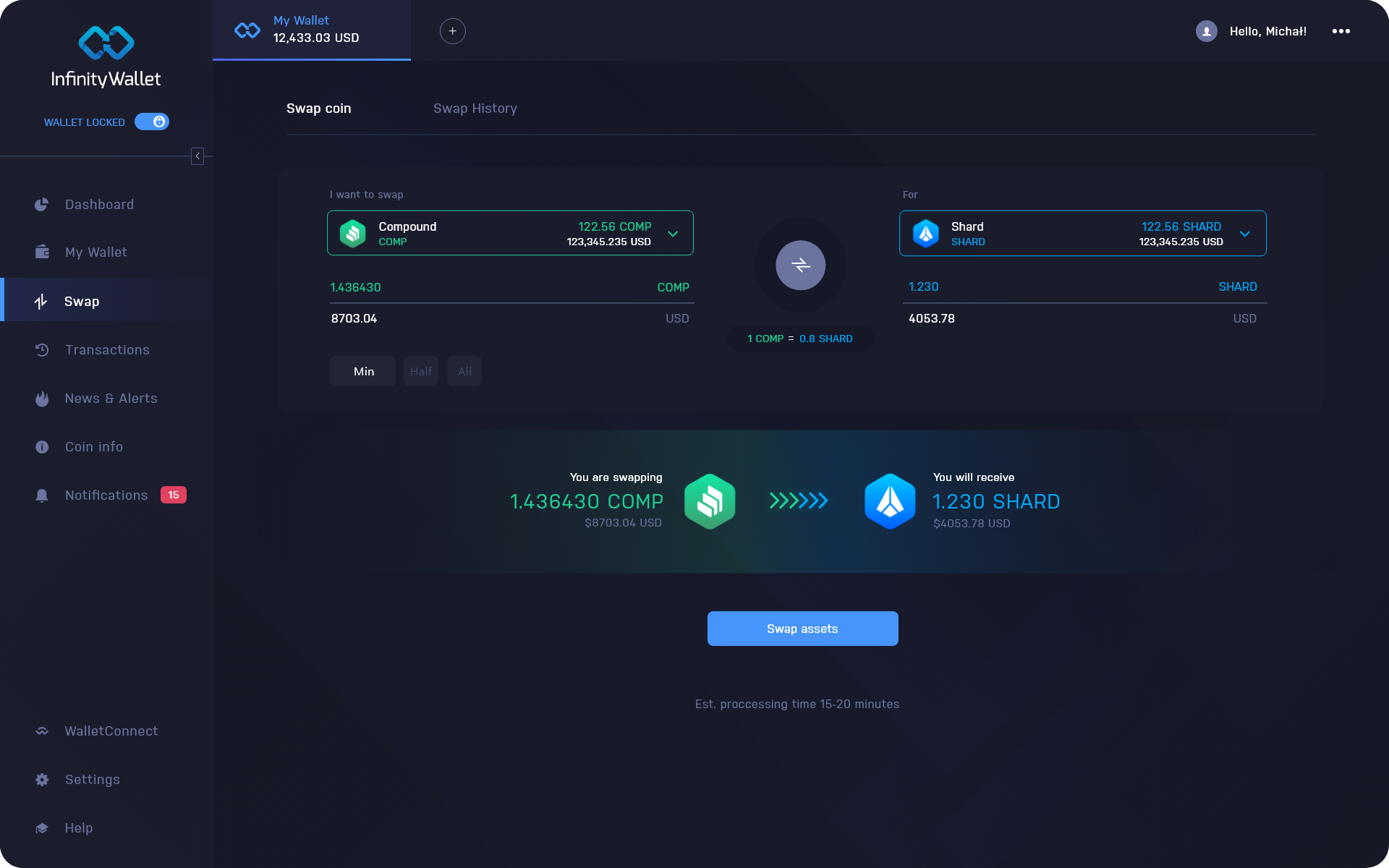 Compound Wallet Desktop Exchange | COMP Wallet Desktop Exchange